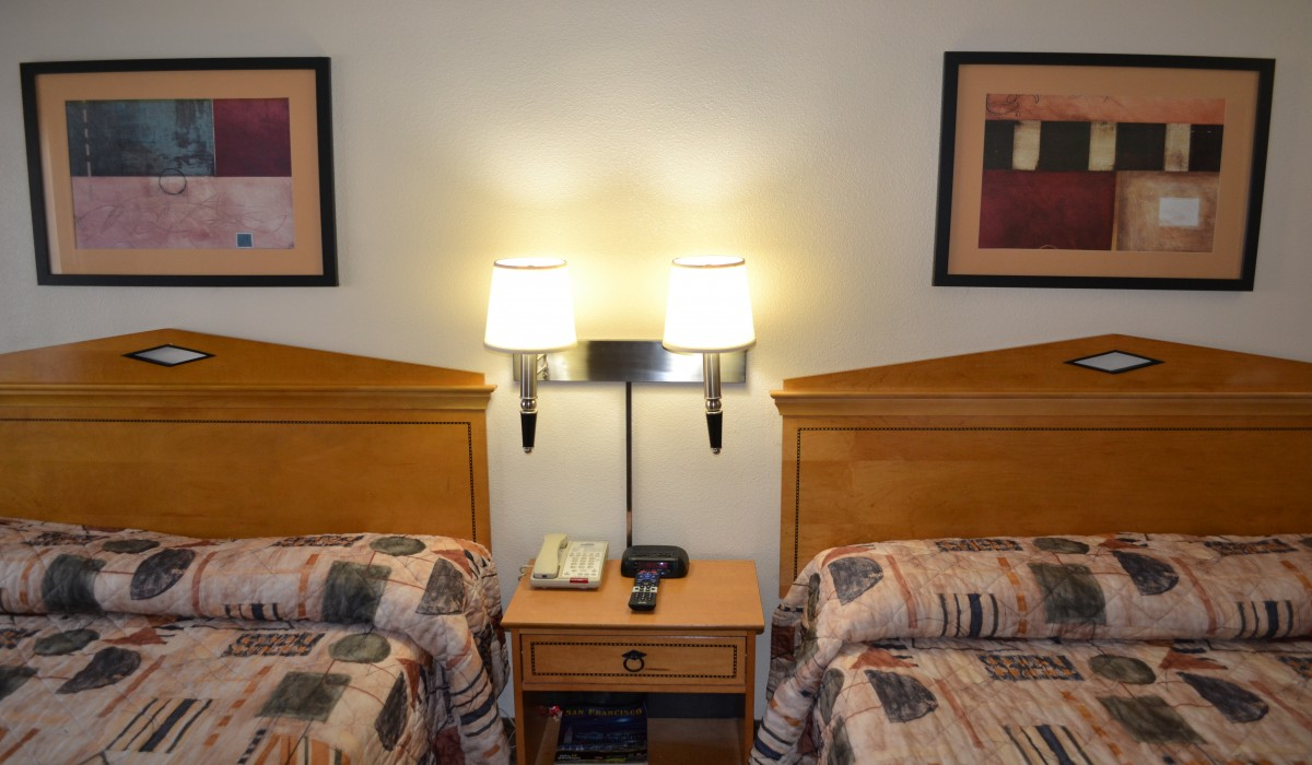 Two Queen Family Room at Travel Inn