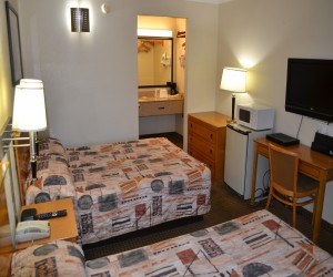 Travel Inn San Francisco - Travel Inn rooms feature flatscreen TVs and fridges